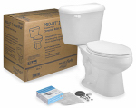 Mansfield Plumbing Products 4135CTK Alto Pro-Fit 2 Toilet Kit, White