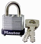 Master Lock 10D 1-Inch Warded Steel Laminated Padlock