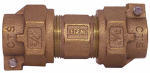 Legend Valve And Fitting 313-214NL Water Service Union, Lead-Free, CTS PAK x PAK, 3/4-In.