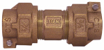 Legend Valve And Fitting 313-220NL Water Service Union, Lead-Free, CTS PAK x PAK, 1-In. x 3/4-In.