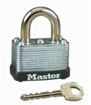 Master Lock 22D 1-1/2 Inch Warded Steel Laminated Padlock