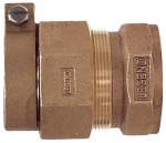 Legend Valve And Fitting 313-275NL Water Service Coupling, Lead-Free, CTS PAK x FIP, 1-In.