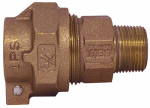 Legend Valve And Fitting 313-234NL Water Service Coupling, Lead-Free, IPS PAK x MIP, 3/4-In.