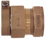 Legend Valve And Fitting 313-274NL Water Service Coupling, Lead-Free, CTS PAK x FIP, 3/4-In.