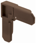 Prime Line Products PL 14273 3/4x3/8 Bronze Corner