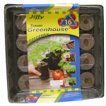 Plantation Products J616 Tomato Greenhouse, Peat Pellet, 16-Ct.