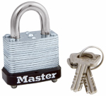 Master Lock 105D 1-1/8 Inch Warded Steel Laminated Padlock