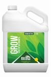 Rx Green Solutions RXGRW128 Grow Hydroponic Plant Nitrogen Nutrient, 1-0-0, 128-oz.