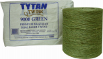 Tytan International SBT16GRTY Baler Twine, Green Sisal, Two 8,000-Ft. Spools