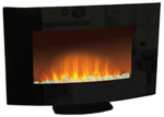 Allen Group Intl EA1118A Wall-Mountable Electric Fireplace, 26-In.