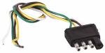 Uriah Products UE110015 Trailer End Connector Harness, 4-Way Flat, 12-In.