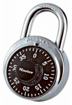 Master Lock 1500D Black Combination Padlock