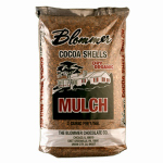 National Cocoa Shell Dist BLCH001 Cocoa Shell Mulch, 2-Cu. Ft.
