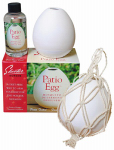 Scent Shop 90600 Mosquito Deterrent, Patio Egg Diffuser & 4-oz. Oil