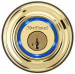 Kwikset 925 KEVO DEADBOLT BRASS Kevo Bluetooth Electronic Deadbolt Lock, Brass