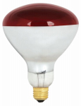 Feit Electric 250R40/R/2 Heat Lamp, Dimmable, Red, 250-Watt, 2-Pk.