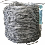 Midwest Air Technologies 317841A Barbed Wire, 2-Point, 13-1/2 Gauge, 1,320-Ft.