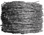 Midwest Air Technologies 317851A Barbed Wire, 4-Point 13-1/2 Gauge,1,320-Ft.