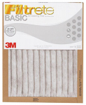 3M FBA02DC-H-6 Basic Filtrete Filter, 20 x 20 x 1-In., Must Purchase in Quantities of 6