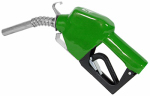 Tuthill N075DAU10 Automatic Diesel Nozzle, Green, 3/4-In.