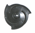 Pacer Pumps Div Of Asm Ind P-58-0704 30 Pump Impeller, ''S' Series, 3-Vane, Polyester, Black