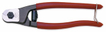 Apex Tool Group 0690TN Pocket Wire Rope & Cable Cutter, 7.5-In.