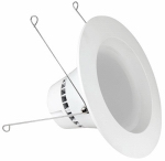 Feit Electric LEDR56/830 LED Recessed Can Light, 16-Watt, 5-6-In.