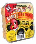 C & S Products 12565 Wild Bird Suet Dough Cake, Sunflower Delight, 11.75-oz.