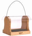 Natures Way Bird Products BWF15 Bamboo Hopper Bird Feeder, 4-Qt.