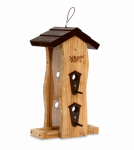 Natures Way Bird Products BWF5 Bamboo Vertical Wave Bird Feeder