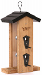 Natures Way Bird Products BWF7 Bamboo Vertical Bird Feeder