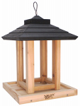 Natures Way Bird Products CWF10 Cedar Gazebo Bird Feeder, 8-Qt.