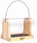 Natures Way Bird Products CWF15 Cedar Hopper Bird Feeder, 4-Qt.