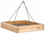 Natures Way Bird Products CWF3 Cedar Tray Bird Feeder