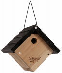 Natures Way Bird Products CWH1 Cedar Trad Wren House