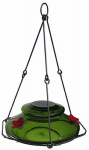 Natures Way Bird Products MHF2 Hummingbird Feeder, Modern Green Glass