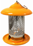 Heath Manufacturing 20144 Ceramic Bird Feeder, Orange, Holds, 1-Lb.