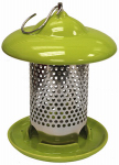Heath Manufacturing 20145 Ceramic Bird Feeder, Lime Green, Holds, 1-Lb.