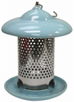 Heath Manufacturing 20146 Ceramic Bird Feeder, Blue, Holds, 1-Lb.