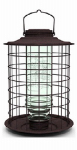 Classic Brands 18 Song Bird Feeder, Caged Vintage, Metal & Glass