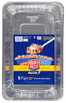 Ez Foil/Reynolds 00ZR08910000 EZ Foil Giant Pasta Pan, Heavy-Duty, 9.5 x 11.5 x 3.5-In.