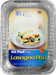 Ez Foil/Reynolds 00ZR38930000 EZ Foil Lasagna Pan With Lid, Non-Stick, 14 x 10 x 3-In.