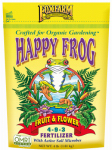 Hydrofarm FX14060 Happy Frog Fruit & Flower Fertilizer, 4-Lbs.