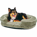 Hangzhou Tianyuan Pet Prod YF83003N-M Green Suede Dog Bed