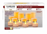 Northern International CG201402 14PC Flameles Candl Set