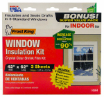Thermwell HSK4 Window Insulation Kit, 3-Pk. Window Sheets, 12-Pk. Switch Plate / Outlet Sealers