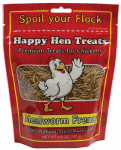 Happy Hen Treats 17005 Poultry Treats, Mealworm, 3.5-oz.