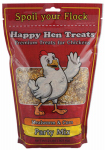 Happy Hen Treats 17013 Poultry Mix, Mealworm & Corn, 2-Lbs.
