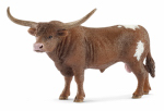 Schleich North America 13866 Toy Figure, Texas Longhorn Bull, Ages 3 & Up