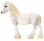 Schleich North America 13735 Toy Figure, Shire Mare, Ages 3 & Up